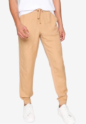 aliexpress various kinds of distinctive style Guess Desert Linen-Blend Jogger Pants