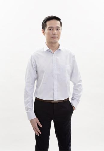 Goldlion white Goldlion Nanotech Wrinkle Free Long-Sleeved Shirt E9005AAC5C314CGS_1