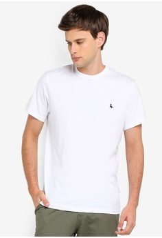bf5db4fe Jack Wills white Sandleford T-Shirt 4134CAA7B535A2GS_1