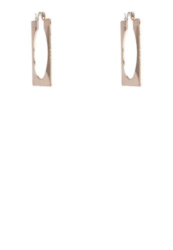 方形鏤空牌esprit香港分店飾耳環, 飾品配件, 其他
