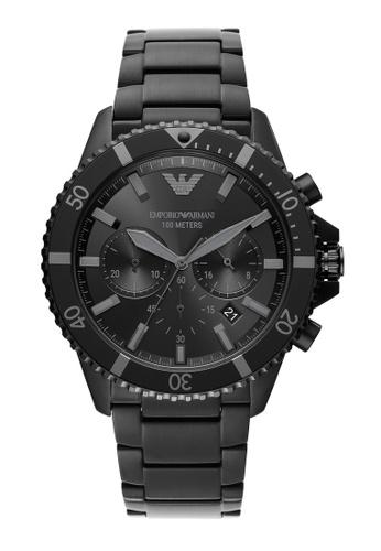 EMPORIO ARMANI black Watch AR11363 B9D87AC8B1C294GS_1