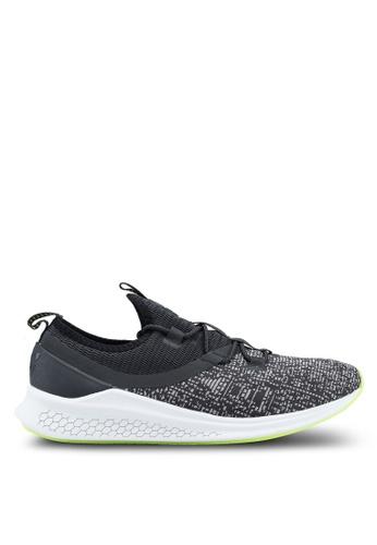 New Balance black and grey LAZR (Mesh) Fresh Foam Performance Running Shoes NE323SH0SXN7MY_1