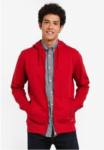 ESPRIT red Long Sleeve Sweatshirt A308BAA6BDBD54GS_1