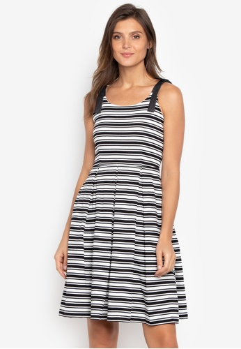 2b7a7df154 Shop Blued Decia Ladies Fashion Striped Dress Online on ZALORA Philippines