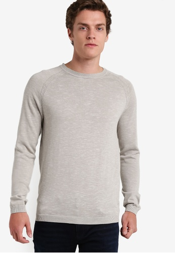 Selected Homme white Crew Neck Sweatshirt SE364AA82EGNMY_1