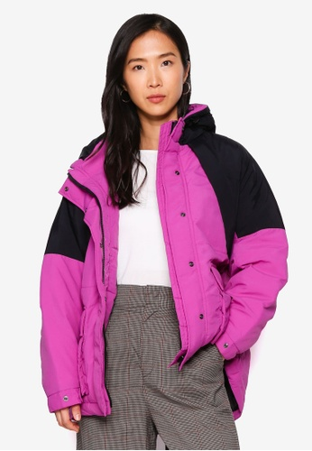 LOWRYS FARM purple Hooded Jacket D9A1BAA11F6D27GS_1