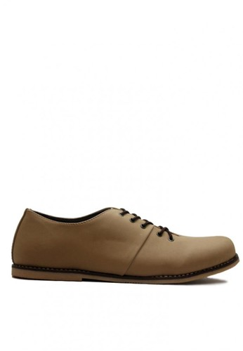 D-Island brown D-Island Shoes Signore Low Comfort Leather Grey DI594SH0VMSHID_1