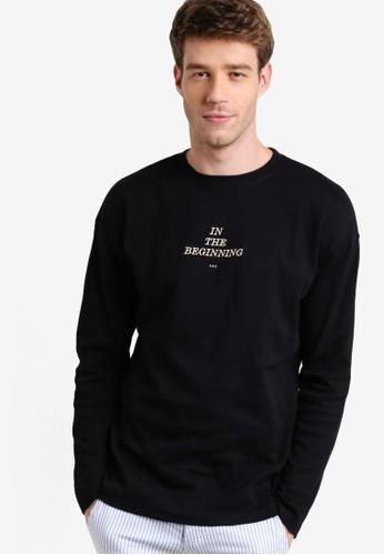 esprit outlet 家樂福圓領長袖衫, 服飾, T恤