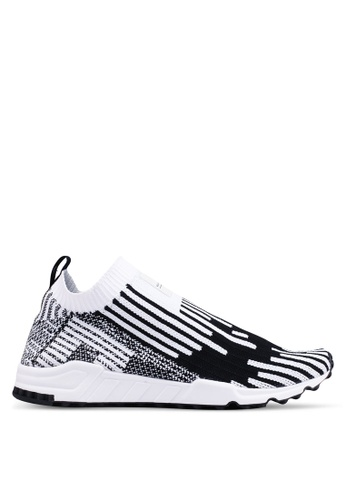 adidas black and white and multi adidas originals eqt support sock pk 3/3 2B4A2SH7C1B78DGS_1