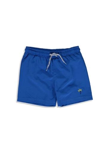 LC Waikiki blue Boys' Quick Drying Swim Shorts 77595KA0D5F1CEGS_1