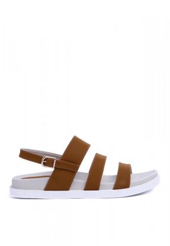 MINKA brown ALP Asha01 Camel Sandal MI006SH06CXPID_1