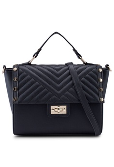 7004358c5 Dorothy Perkins black Black Quilted Stud Mini Tote Bag 6268FAC9452CCEGS_1
