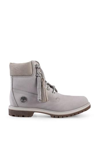 Timberland grey 6-inch Premium Waterproof Boots 13A5BSHFCE4849GS_1