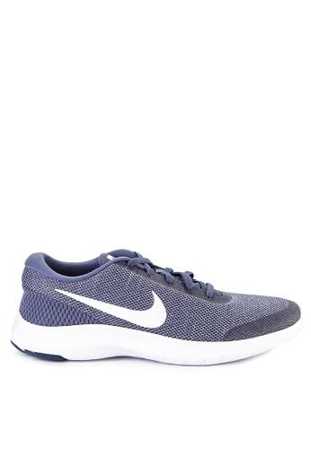 Nike white and blue Nike Flex Experience RN 7 Running Shoes 59E06SHC4E7C22GS_1