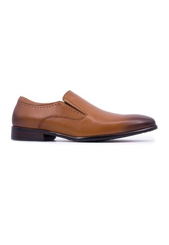 Hanson Bootmaker 褐色 Hanson Bootmaker Slip-on - Tan 3F6E6SH3557A3AGS_1