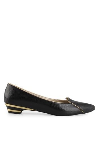 Farish Shoes black Tressa Flats FA632SH44TTRID_1