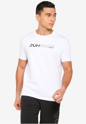361° white Running Series Short Sleeve T-Shirt 9DB4CAA23746F8GS_1