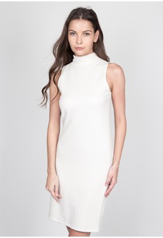 Casual Sleeveless Shift Dress