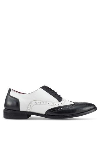 ACUTO multi Leather Brogue Shoes 3BC46SHD9A37F7GS_1