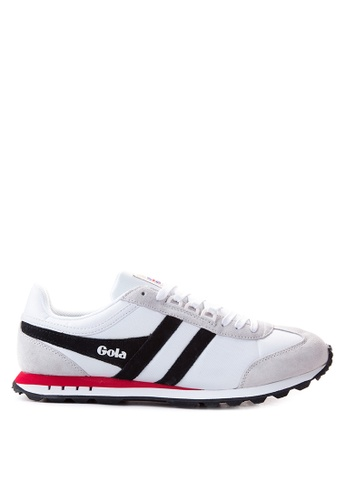Gola white Boston Sneakers GO513SH15TSAPH_1