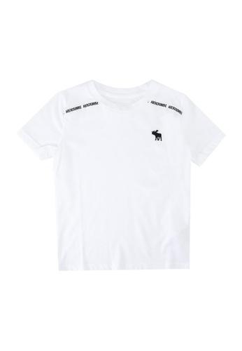 Abercrombie & Fitch white Fashion Logotape T-Shirt 2D312KA6B3B9FEGS_1