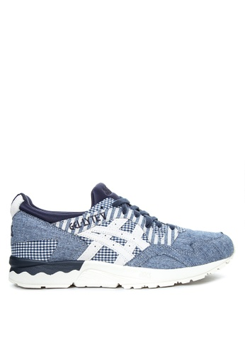 ASICSTIGER blue GEL-Lyte V Sneakers AS118SH34KFDPH_1