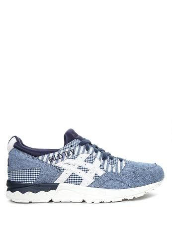 ASICSTIGER blue GEL-Lyte V Sneakers AS118SH34KFDPH_1