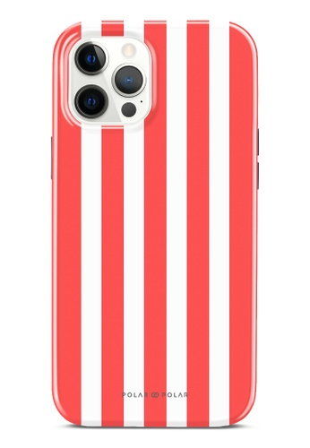 Polar Polar red Scarlet Stripe Dual-Layer Tough Case Glossy For iPhone 12 Pro Max 9CE28ACD7F7E26GS_1