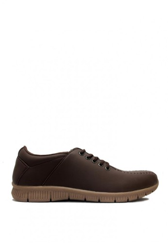 D-Island brown D-Island Shoes Max Trainers Rajut Comfort Leather Brown DI594SH0VXYYID_1