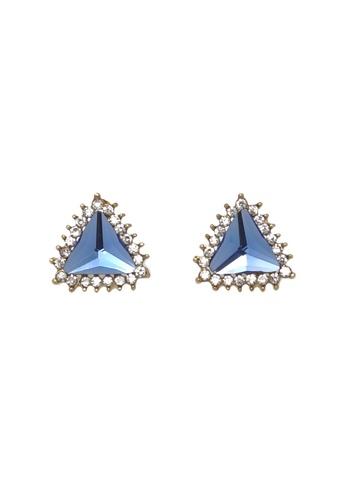 Jaysa Collection blue Ice Blue Stud Earrings JA875AC88LXNSG_1