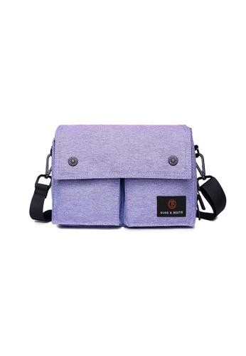 The Dude blue Wander Messenger Bag TH373AC81YDUHK_1