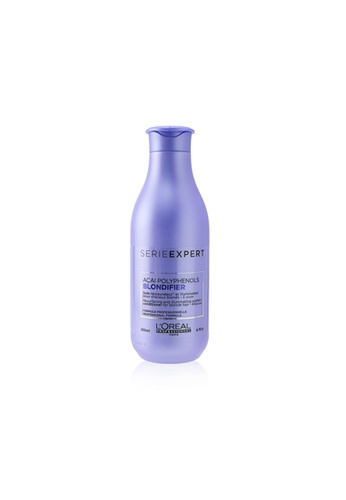 L'Oréal L'ORÉAL - Professionnel Serie Expert - Blondifier Acai Polyphenols Resurfacing and Illuminating System Conditioner (For Blonde Hair) 200ml/6.7oz 9FD2EBE352314EGS_1
