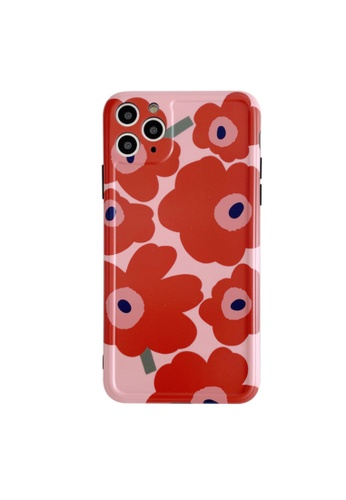 Kings Collection red Red Flower iPhone 11 Pro Max Case (KCMCL2278) 4153DACA471B7FGS_1