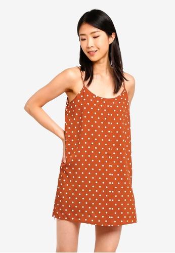 Burnt Orange Dress Lining Fabric 8761