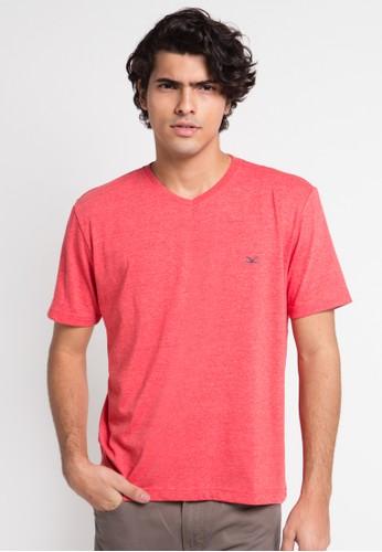 CARVIL red Tshirt Man Vitman-R56 CA566AA0UGXKID_1
