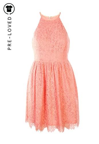 Trina Turk pink Pre-Loved trina turk Pink Lace Dress 31212AA5A81325GS_1