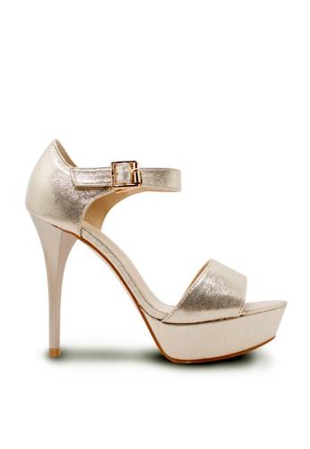 Karen&Chloe gold Sepatu Wanita High Heel Gold KA772SH08RXBID_1