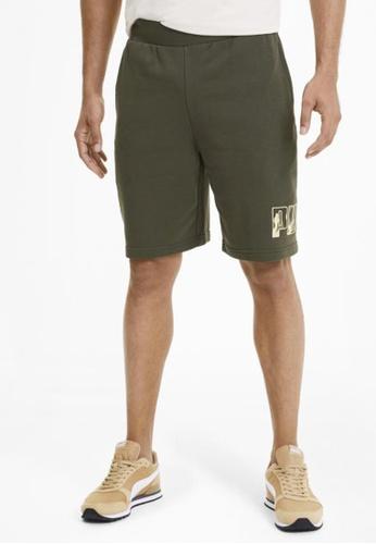 """Puma green Rebel Camo 9"""" Men's Shorts 9D191AA5DEC533GS_1"""