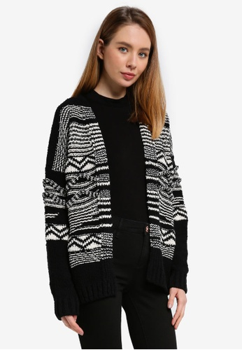 River Island black Isabel Hero Knit Cardigan C24F0AAAD03EDEGS_1