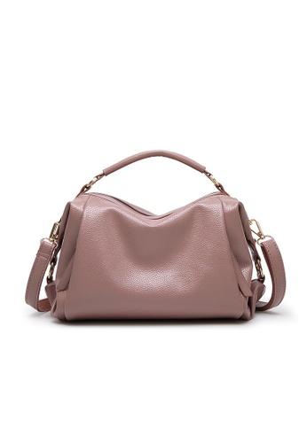 Lara pink Top Handle Shoulder Bag 6484CAC1FEB0BBGS_1