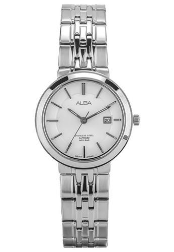 Alba silver Jam Tangan Wanita Alba Ladies Original Garansi Resmi Strap Stainless Steel Silver AH7N47 AH7N47X1 Silver 20382AC7A77269GS_1