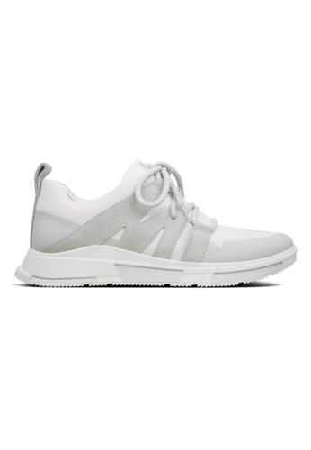 FitFlop white Fitflop Men Fabien Sneakers Urban White C5367SH2237EFFGS_1