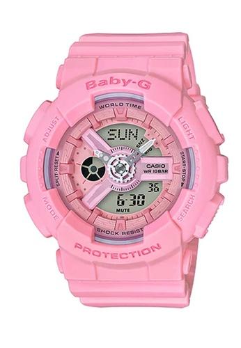 CASIO pink Casio Baby-G Pink Resin Watch E582CACEBE4B06GS_1