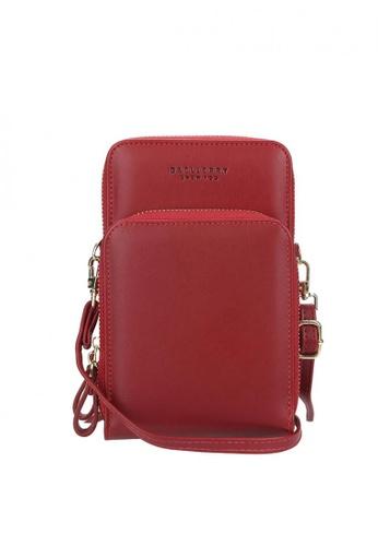 Baellerry red Daily Use Crossbody Phone Bag 782B3AC21378FAGS_1