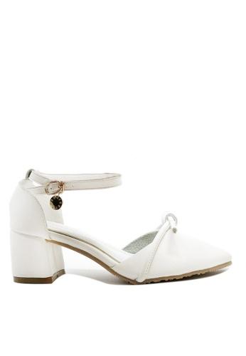 Twenty Eight Shoes white Sweet Bow Mid Heel 546-42 46CF7SH5EB5CBCGS_1