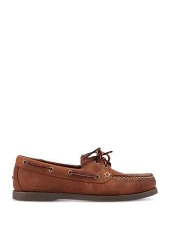Lumberjacks brown Boat Shoes F2C1FSHD73CF98GS_1