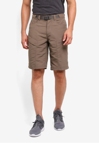 The North Face brown TNF M Paramount Trail Short - Ap Weimaraner Brown 49D63AA9328F35GS_1