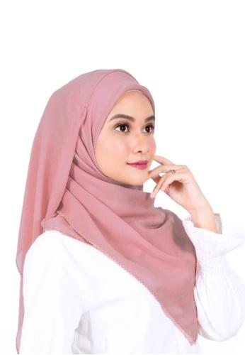 Ava Moony pink Alyssa Scarf A3BF3AA54418A7GS_1