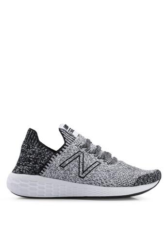New Balance black Cruz Future Sport Sock Shoes 42526SHDD11A23GS_1