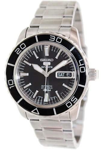 Seiko silver Seiko 5 Automatic 23 Jewels SNZH55K1 Silver 96C34AC4DA98B5GS_1